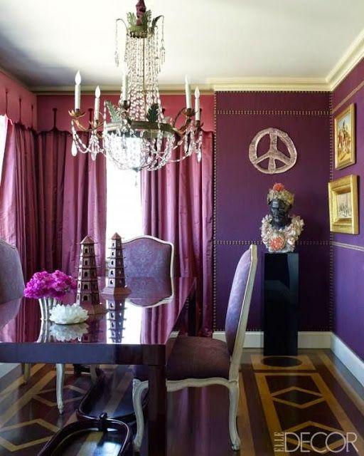 The 25+ best Purple dining rooms ideas on Pinterest | Purple ...