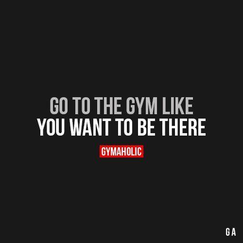 Go To The Gym Like
