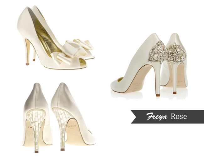 Your Guide To Designer Wedding Shoes