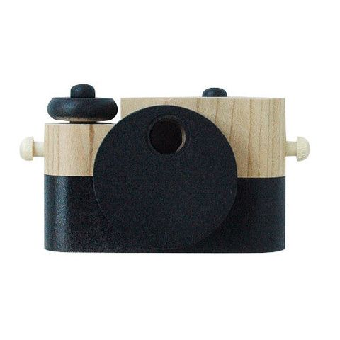 Pixie Wooden Camera - mini mioche - organic infant clothing and kids clothes - made in Canada