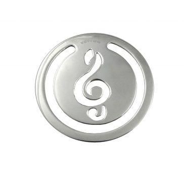 Bookmark - TREBLE CLEF - Sterling Silver