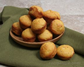 (Healthier, but not enough to pin under Healthy Board!) Oven Baked Hush Puppies Recipe