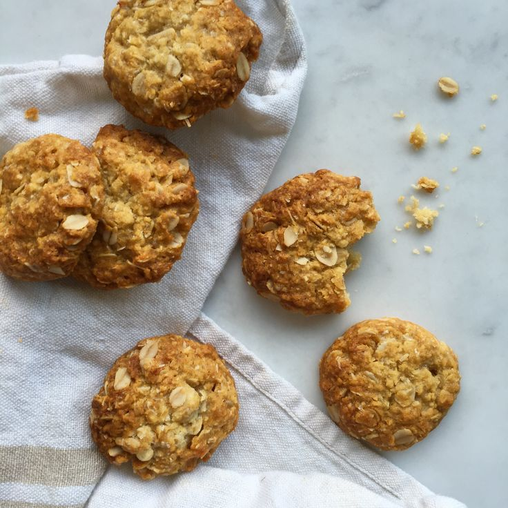 Recipes | Better For You Anzacs | Louise Fulton Keats