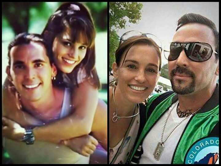 Tommy & Kimberly: Then & Now  1994 / 2016 www.morphinlegacy.com  (Source: The Dragonzord) #PowerRangers #MightyMorphin #MMPR