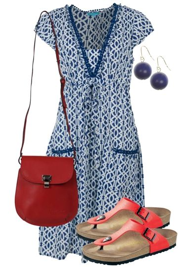Blue Sky Dreaming Outfit includes Firefly, LouenHide, and Birkenstock - Birdsnest Buy Online