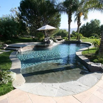 Best 25+ Walk in pool ideas on Pinterest | Beach entrance pool ...