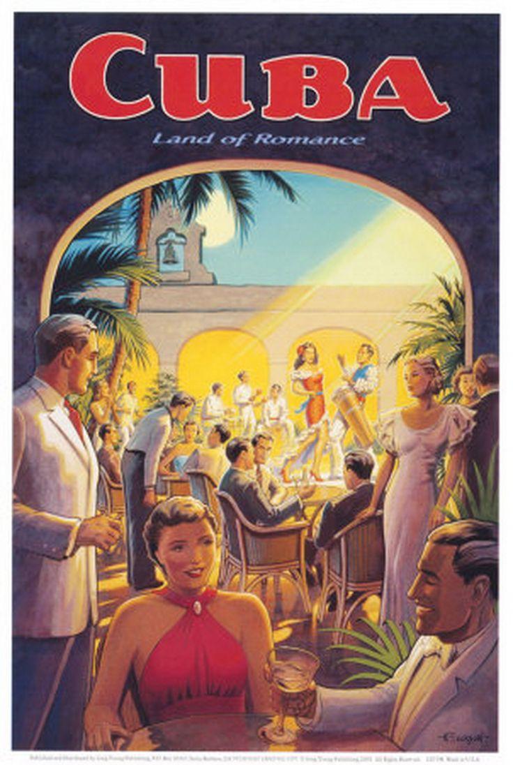 Best 43 Cuba travel ads images on Pinterest | Cuban cigars, Vintage ...