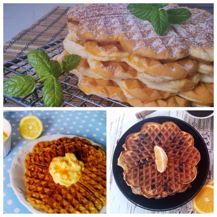 TOP3 Diétás gofri recept fogyókúrás reggelire!