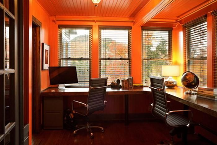 home office color. Glamour Home Office Colors - #HomeOffice Room Decor Color