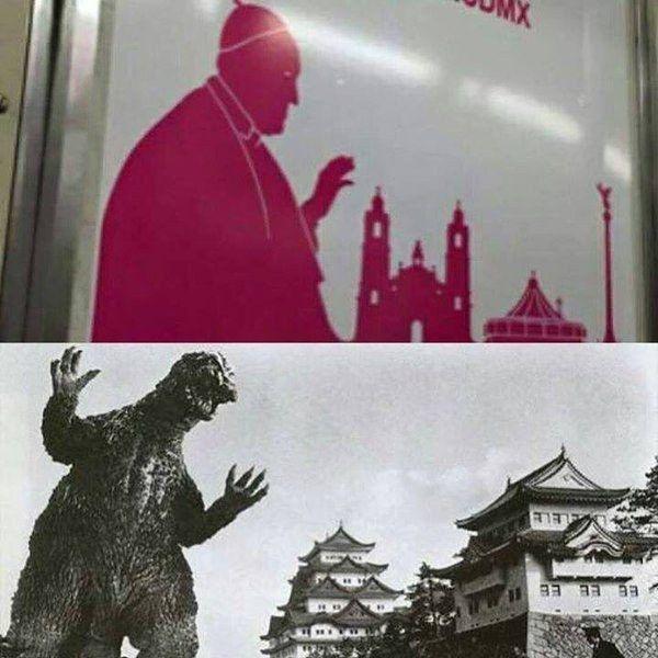 El Papa Francisco visitó la CDMX. | 26 Memes del Papa en México que te van a hacer reír y luego rezar