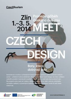 Vizuál zlínské akce Meet Czech Design