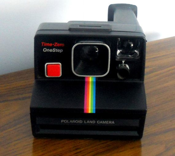 vintage polaroid 1980 s time zero onestep land camera w  manual treasury item vintage polaroid onestep battery polaroid onestep battery