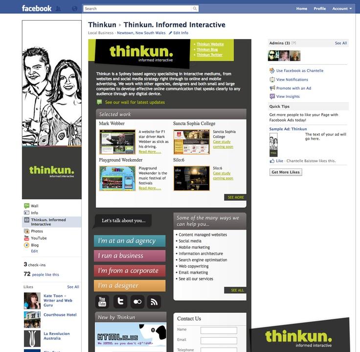 Thinkun Facebook page
