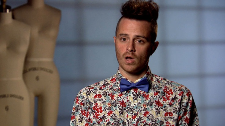 Yes he is gay but Anthony Ryan I crush you as you wear print and a bow tie