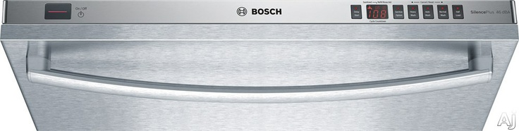 Bosch 500 Series SHX55R5.  Fully Integrated Dishwasher with 14-Place Settings, 4 Wash Cycles, 2 Options, Sanitize Option, 500 Series Upper/Lower Racks and 46 dBA        $859.10