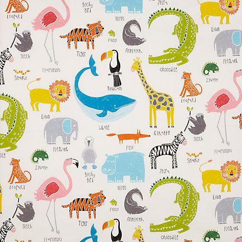 Buy Scion Animal Magic Furnishing Fabric Online at johnlewis.com