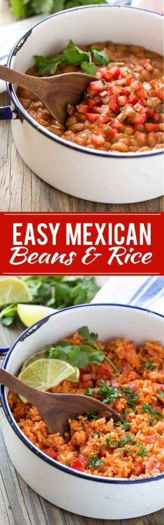 Easy Mexican Pinto Beans and Rice Recipe
