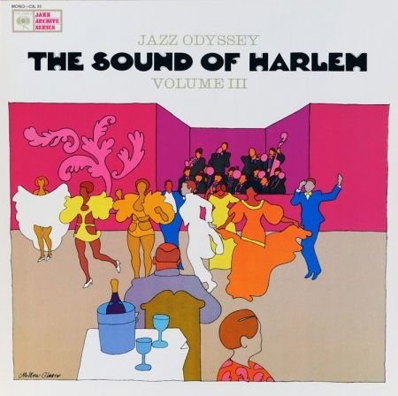 Jazz Odyssey * Sounds of Harlem | cover by Milton Glaser (1965)