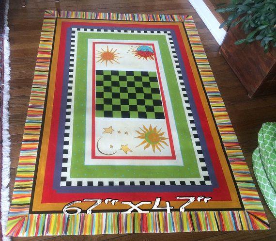 hand painted floor cloth repurposed linoleum by WoodKnacks. Custom orders available ($7 sq ft)