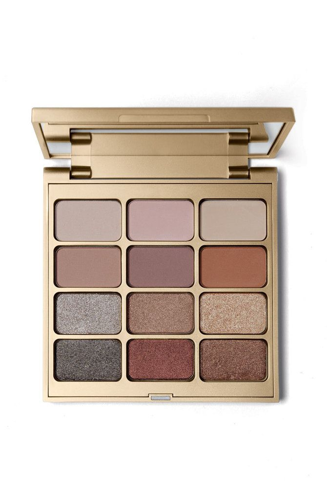 Stila's Matte 'N Metal Palette - Create eye-catching color combos with just the right mix of matte and shimmer. Featuring six modern matte and six mega metallic shades in range of pink rose golds, cool-toned pewters and golden bronzes that flatter all skin tones, it's the one color palette you need to design eyes that truly dazzle.
