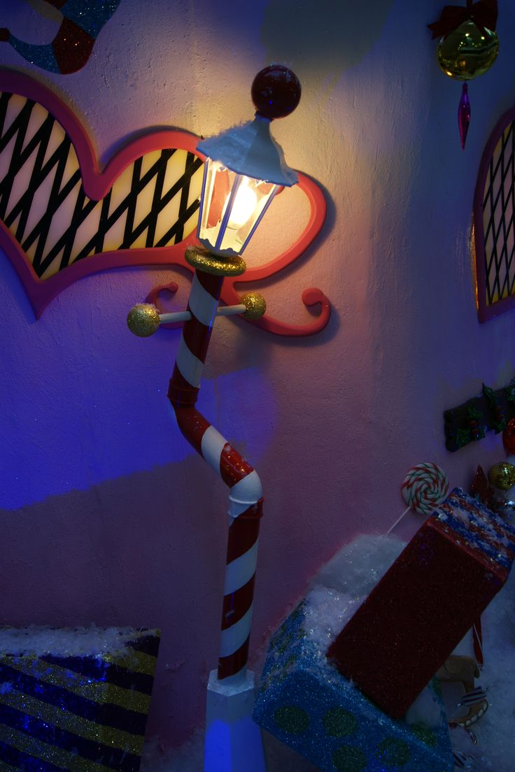 Santa's grotto in Canary Wharf London designed by The Whimsical Cake Company
