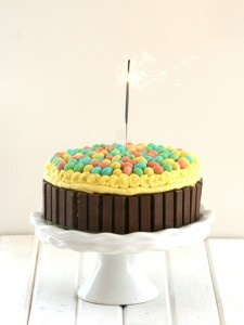 Easter version of the kitkat cake