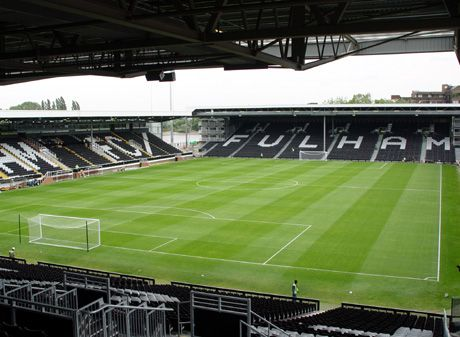 Craven Cottage in London.  Longing to make a pilgrimage there.