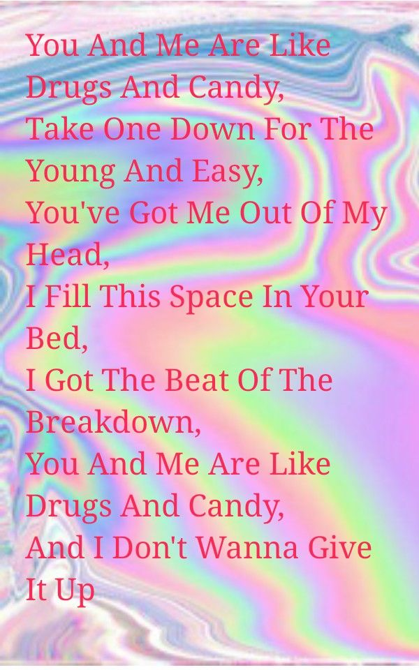 Drugs and Candy by All Time Low lyrics