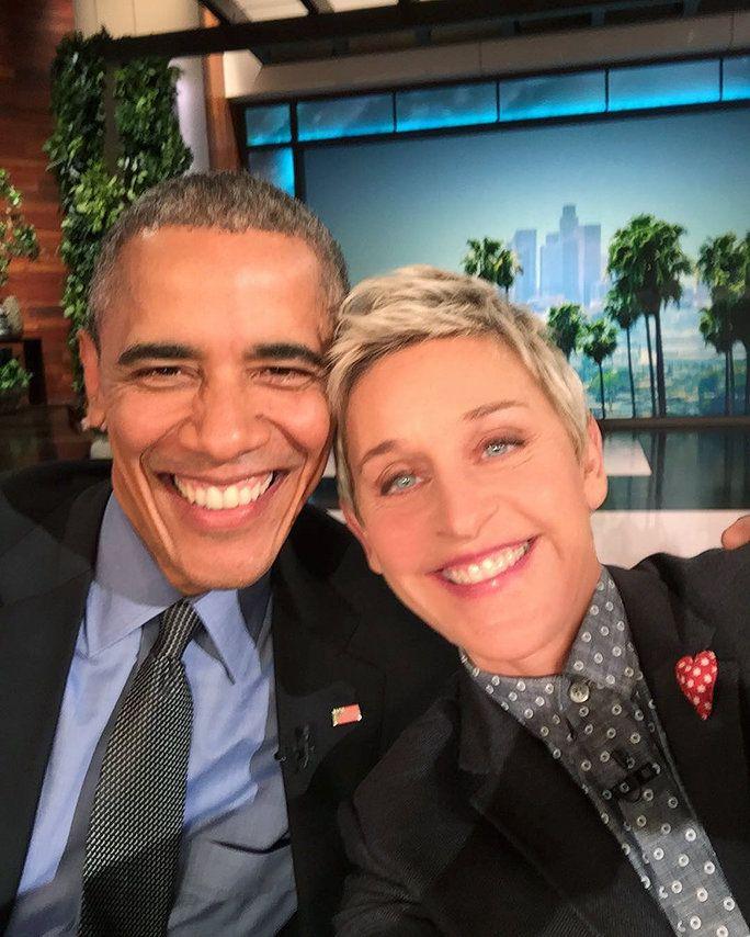 Barack Obama and Ellen DeGeneres took one epic selfie.