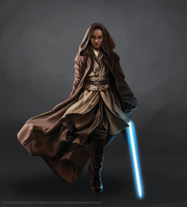 Female Jedi - Star Wars: Force & Destiny - Magali Villeneuve