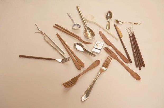 Designer chinesa cria híbridos de garfos e hashis