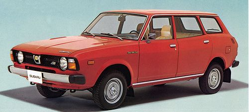 1978 Subaru 1600 station wagon 4WD, via Flickr.