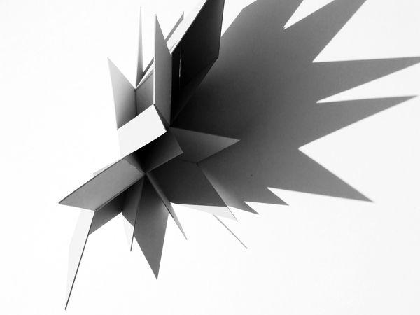 Light&Shadows by Ksymena Borczyńska, via Behance