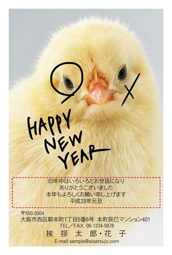 新年早々、羽根つきで負けてしまったようです。HAPPY NEW YEAR!よい1年になりますように。 #年賀状 #デザイン #酉年