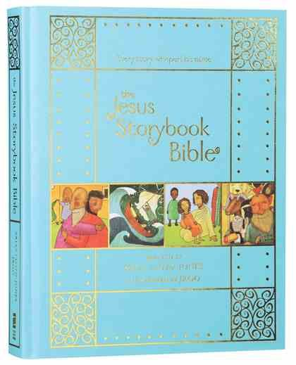 The Jesus Storybook Bible (10th Anniversary Edition) is a Bible Storybooks Hardback by Sally Lloyd-Jones,Jago (Illus) about BIBLE STORIES,CHILD ISSUES SALVATION. Purchase this Hardback product online from koorong.com | ID 9780310761006