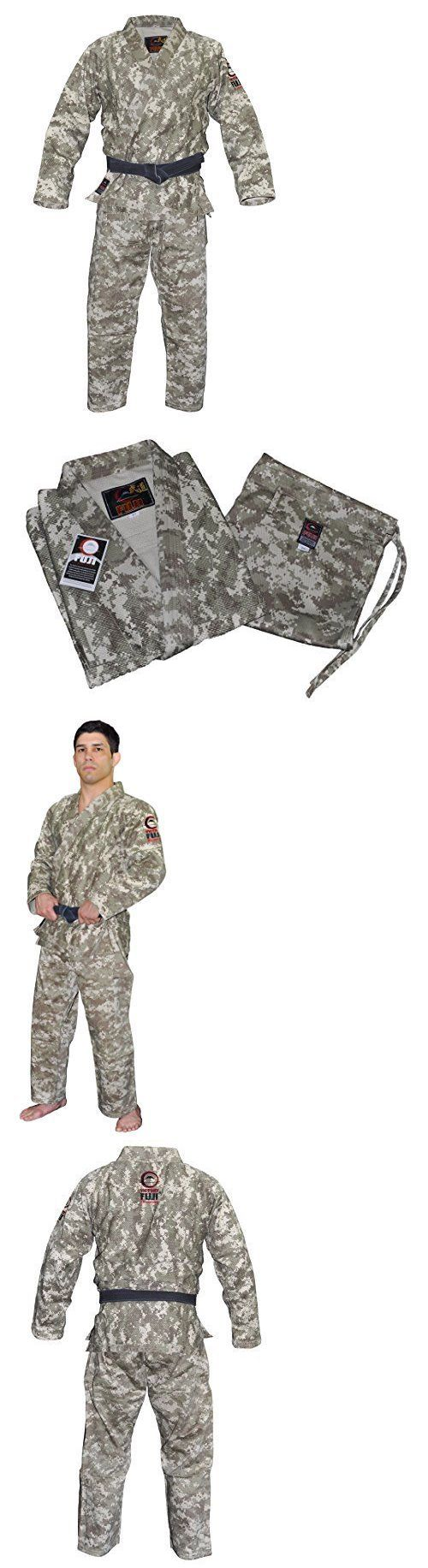 Jackets 179771: Fuji Bjj Gi Uniform Digital Camo A2 Mens Martial Arts Uniform Jacket, New -> BUY IT NOW ONLY: $165.58 on eBay!
