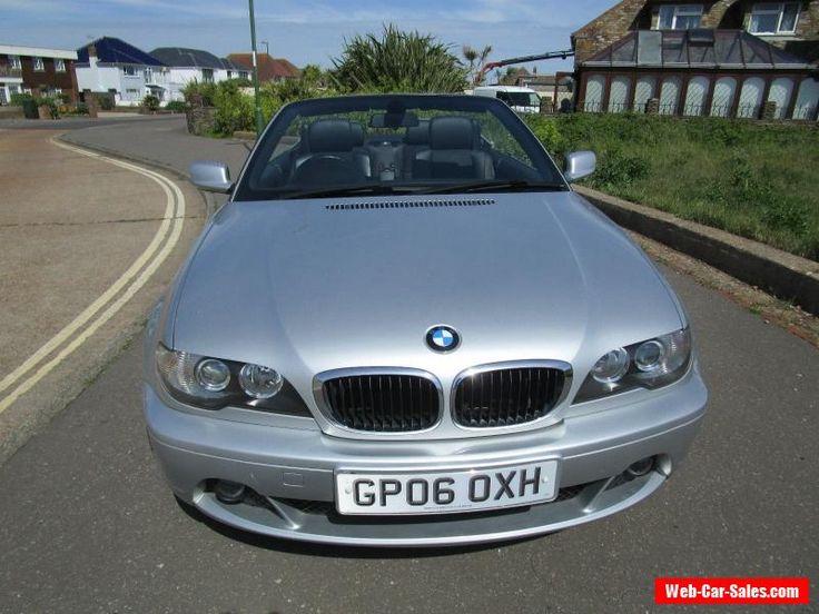 2006 BMW 318CI SE AUTO SILVER CONVERTIBLE #bmw #318ciseauto #forsale #unitedkingdom
