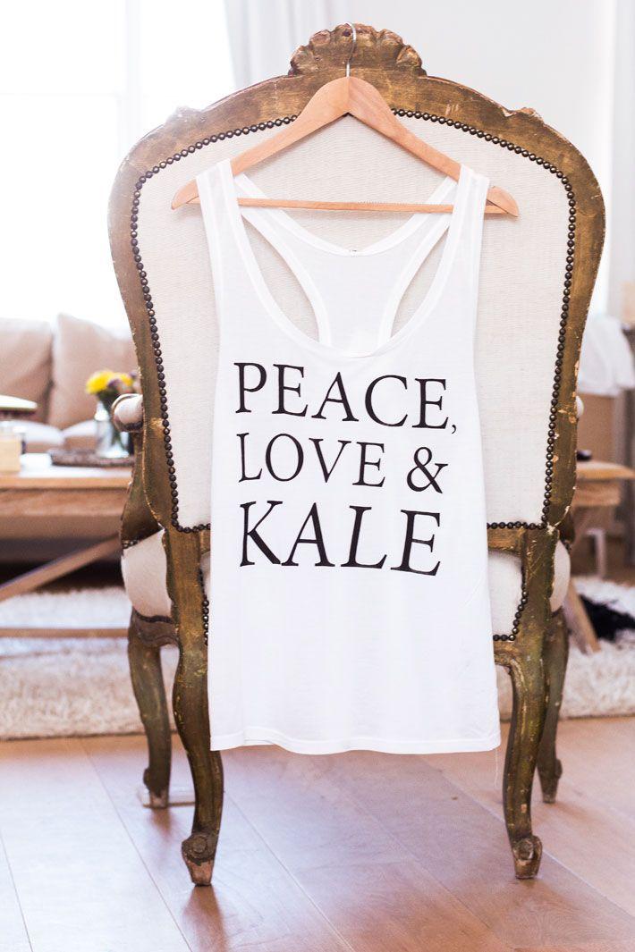 Peace, Love & Kale