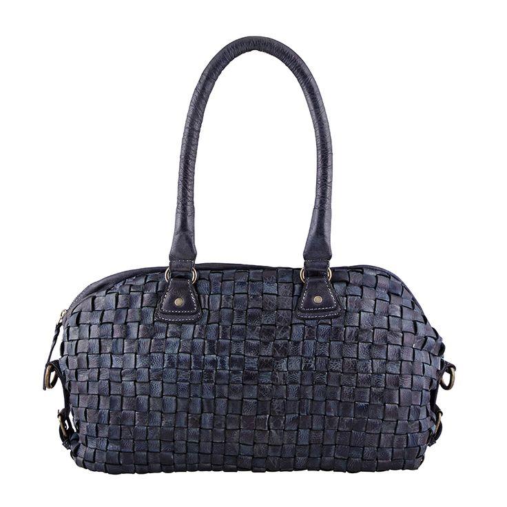 Playful nature, medium bag, style 11050. Shady blue.