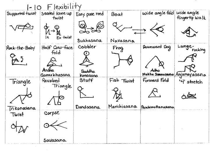 Yogi Sticks: 1-10 Flexibility and 1-12 Sciatic Stretches ...