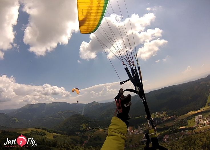 Donovaly tandemovy let paragliding