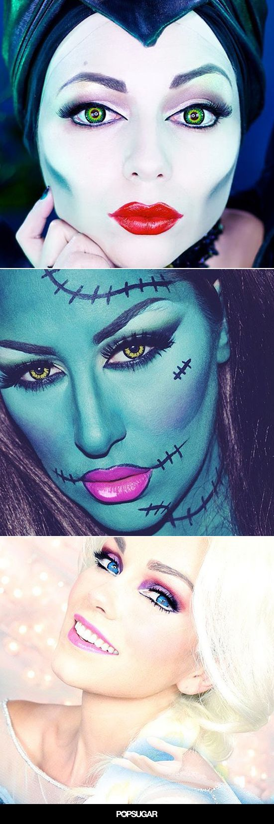 15 Beginner Hacks From Incredible Halloween Makeup Tutorials