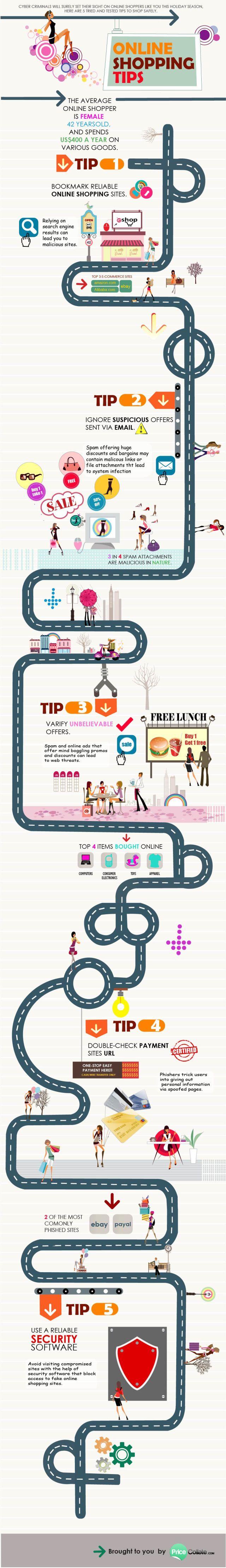 5 consejos para las #compras #online