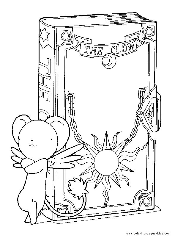 coloring pages cardcaptors - photo#27