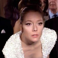 Diana Rigg as Bond Girl Tracy di Vicenzo, On Her Majesty's ...