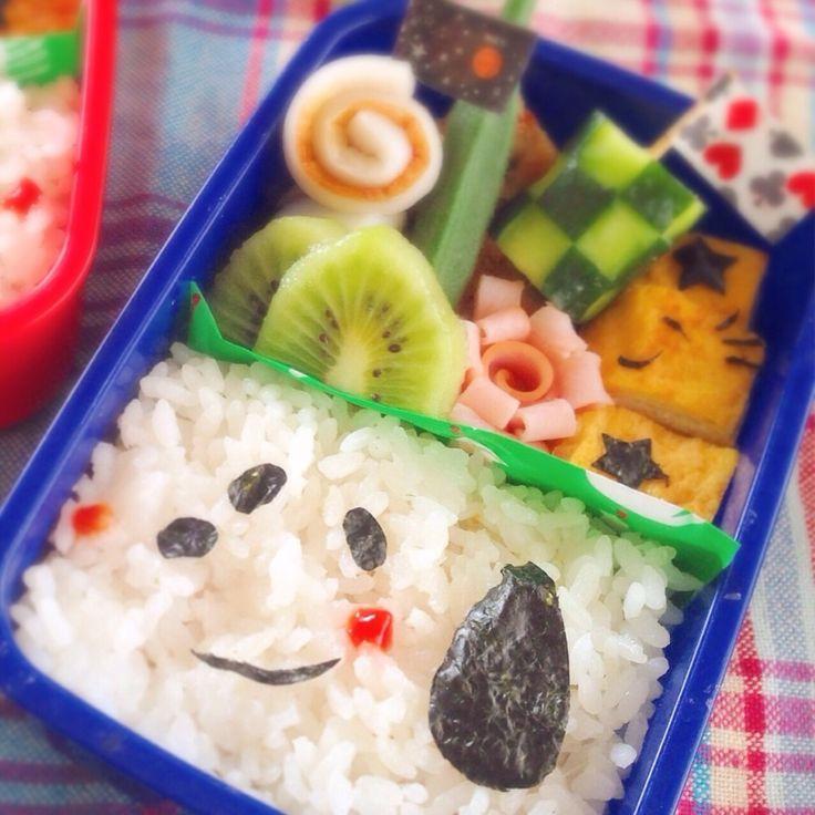 簡単♡詰めご飯で スヌーピー キャラ弁 by 2430mam [クックパッド] 簡単おいしいみんなのレシピが251万品