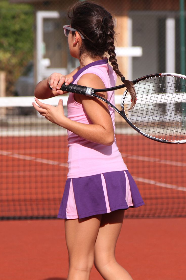 The latest tennis skirts for girls at Zoe Alexander UK - Made in UK