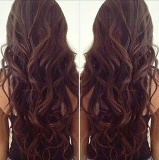 Long, loose curls .could my hair be this pretty?!