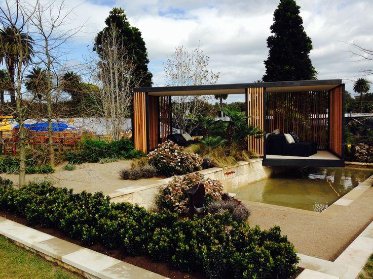 Australian Garden Show Sydney: 4 September 2014. Myles Baldwin's 'Open Woodland'. Best in Show and Gold medal