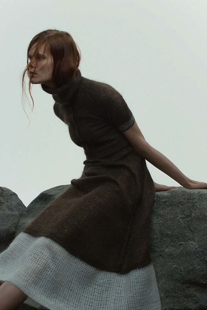 """birdcagewalk: """" stormtrooperfashion:Irina Kravchenko by Paul Jung for Bon Magazine, Autumn/Winter 2014 """""""